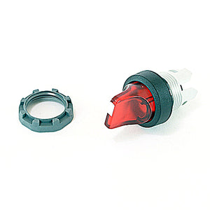 ABB M2SS2-11R 22mm Selector Switch, Knob Type, Red, Modular ABB M2SS2-11R