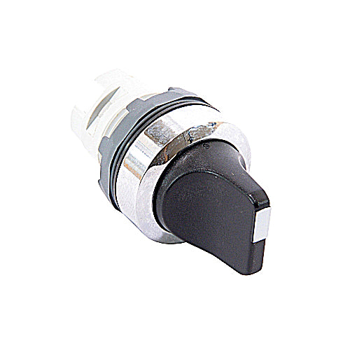 ABB M2SS2-30B 22mm Selector Switch, Knob Type, Black, Modular ABB M2SS2-30B