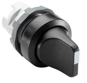 ABB M3SSV1-10B 22mm Selector Switch, Knob Type, Black, Modular ABB M3SSV1-10B