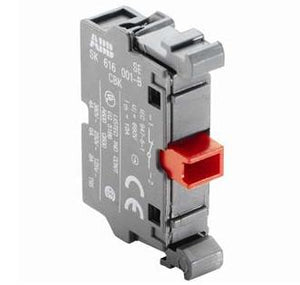 ABB MCB-01 Pilot Device, 22mm Contact Block, 1NC, Front Mount, Non-Metallic ABB MCB-01