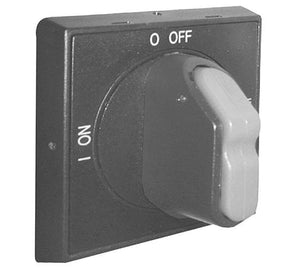 ABB OHBS2AJ Disconnect Switch, Selector Handle, Black, I-O, ON-OFF ABB OHBS2AJ