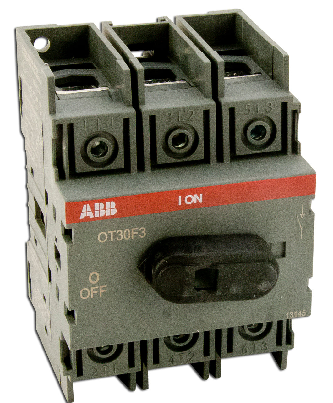 ABB OT30F3 Non-Fused Disconnect, 30 Amp, 3-Pole  ABB OT30F3