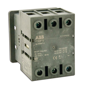 ABB OT80FT3 Disconnect switch, Non-Fused, 80A, 3P, 690VAC, Front Operated ABB OT80FT3