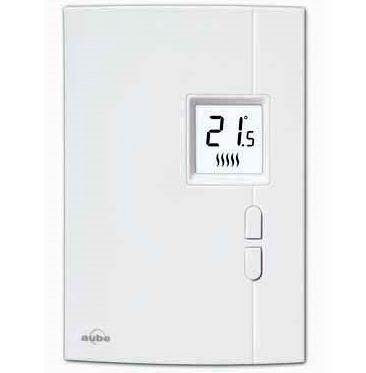 Cadet TH401 Electronic Non-Programmable SP Thermostat White Cadet TH401