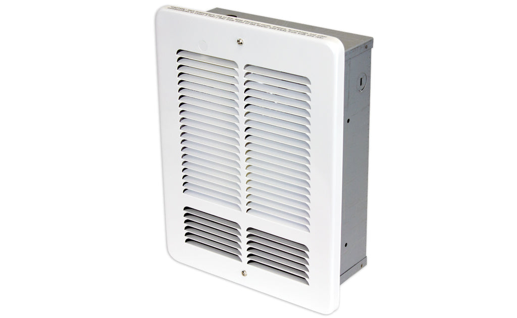 King Electrical W1210I-W Wall Heater, Fan Forced, 1000/500W, 120V King Electrical W1210I-W