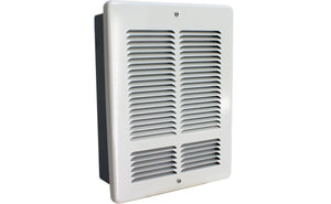 King Electrical W2410I-W Fan Forced Wall Heater Interior and Grill, 500/1000W, 240V King Electrical W2410I-W