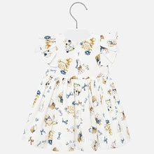 Load image into Gallery viewer, Kittens print dress for baby girl