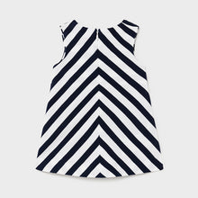 Load image into Gallery viewer, Striped knit dress for baby girl