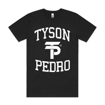 TYSON PEDRO BLACK T-SHIRT