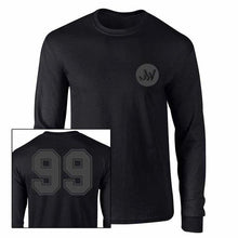 Load image into Gallery viewer, Black Logo Longsleeve