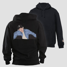 Load image into Gallery viewer, Black Hooded Sweater