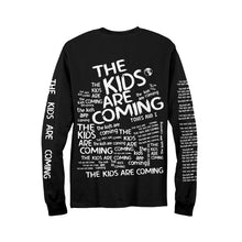 Load image into Gallery viewer, The Kids Are Coming Long Sleeve Tee