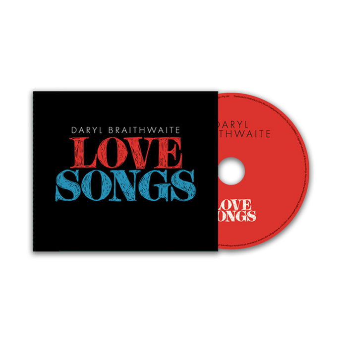 Daryl Braithwaite - Love Songs CD