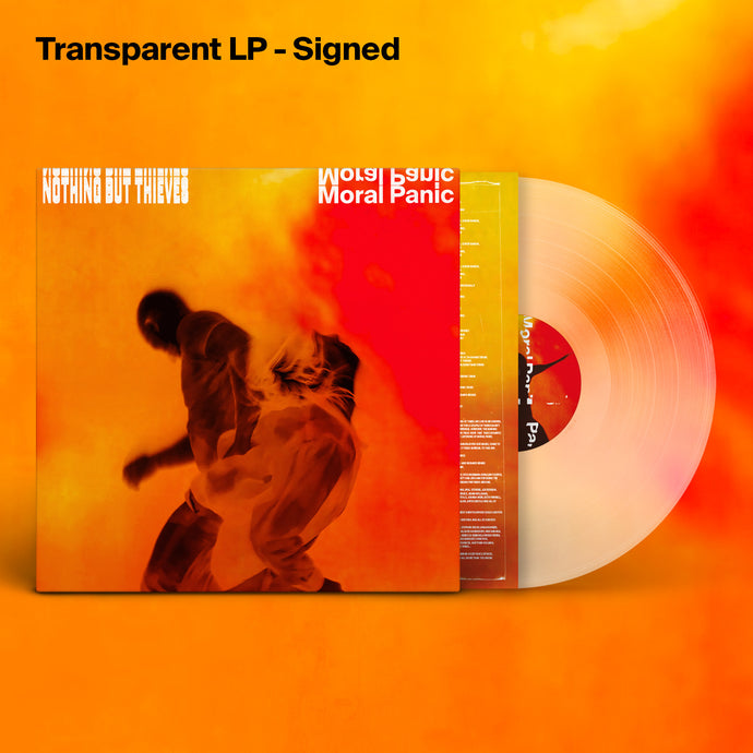 Moral Panic Transparent LP (Signed)