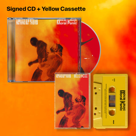 Moral Panic Signed CD + Yellow Cassette