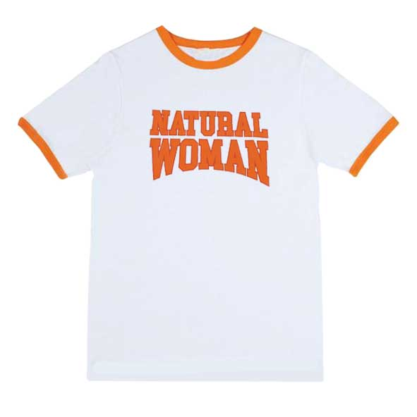 Natural Woman Orange Ringer