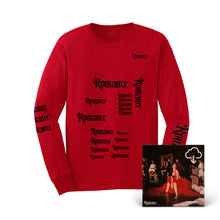 Load image into Gallery viewer, Romance Long-Sleeve T-Shirt + Digital Album Download
