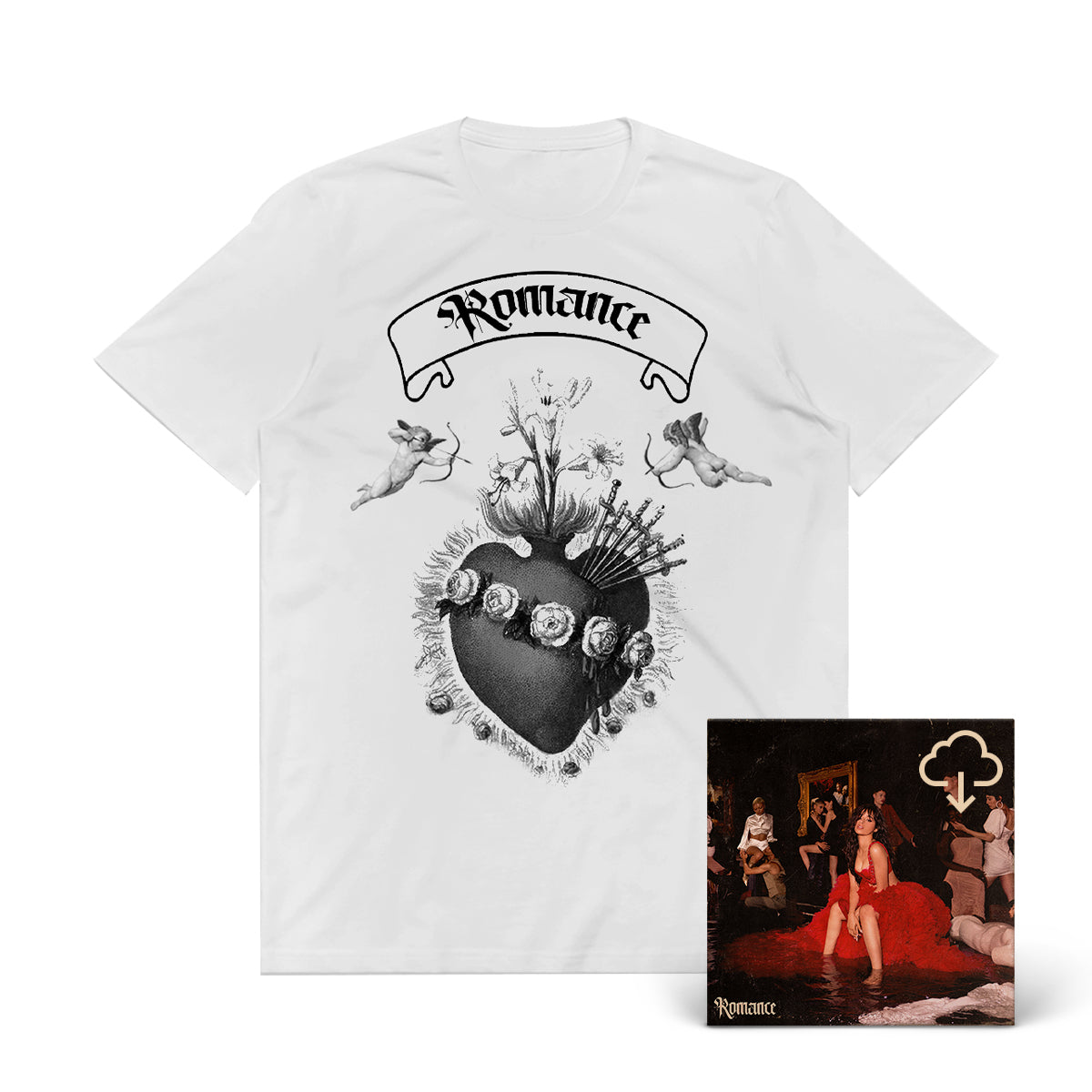 Romance T-Shirt + Digital Album Download