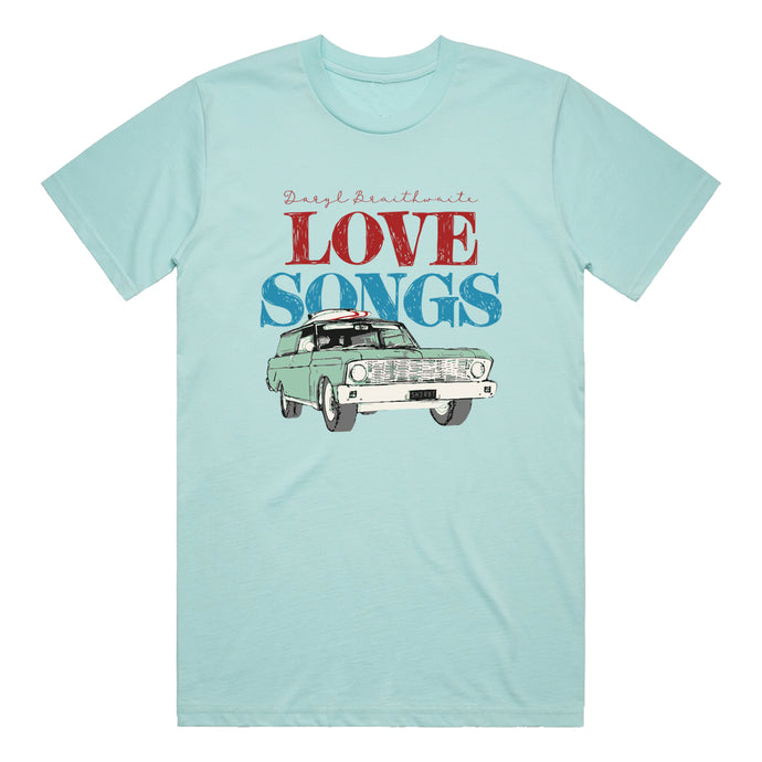 Love Songs Lagoon Tee + Love Songs CD