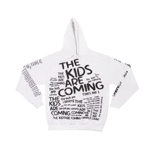 Load image into Gallery viewer, The Kids Are Coming White Hoodie