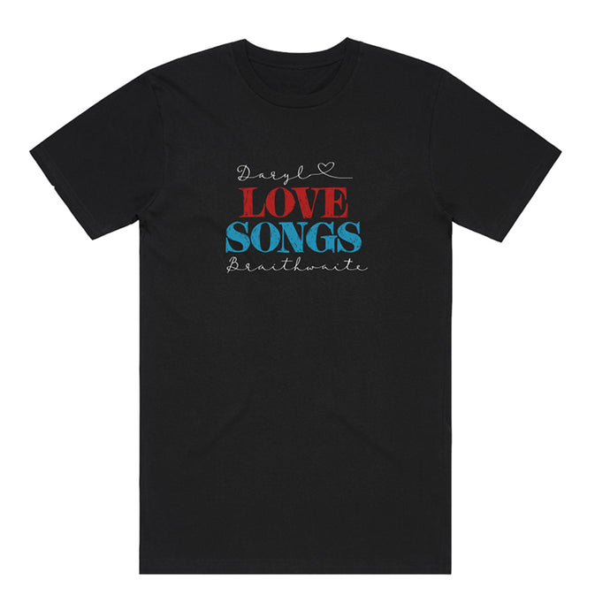 Love Songs Black Tee + Love Songs CD