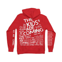 Load image into Gallery viewer, The Kids Are Coming Red Hoodie