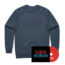 Load image into Gallery viewer, The Horses Blue Sweater + Love Songs CD