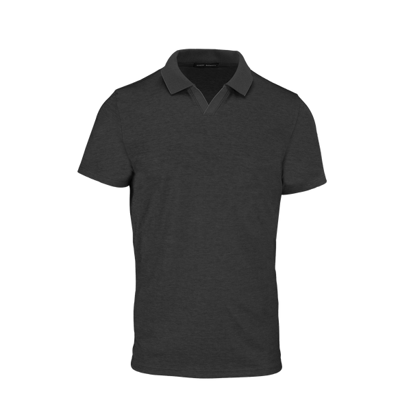 Polo CASEY SS JOHNNY COLLAR noir
