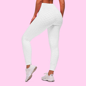 cellutherapie booty lift leggings anti cellulite amincissant blanc