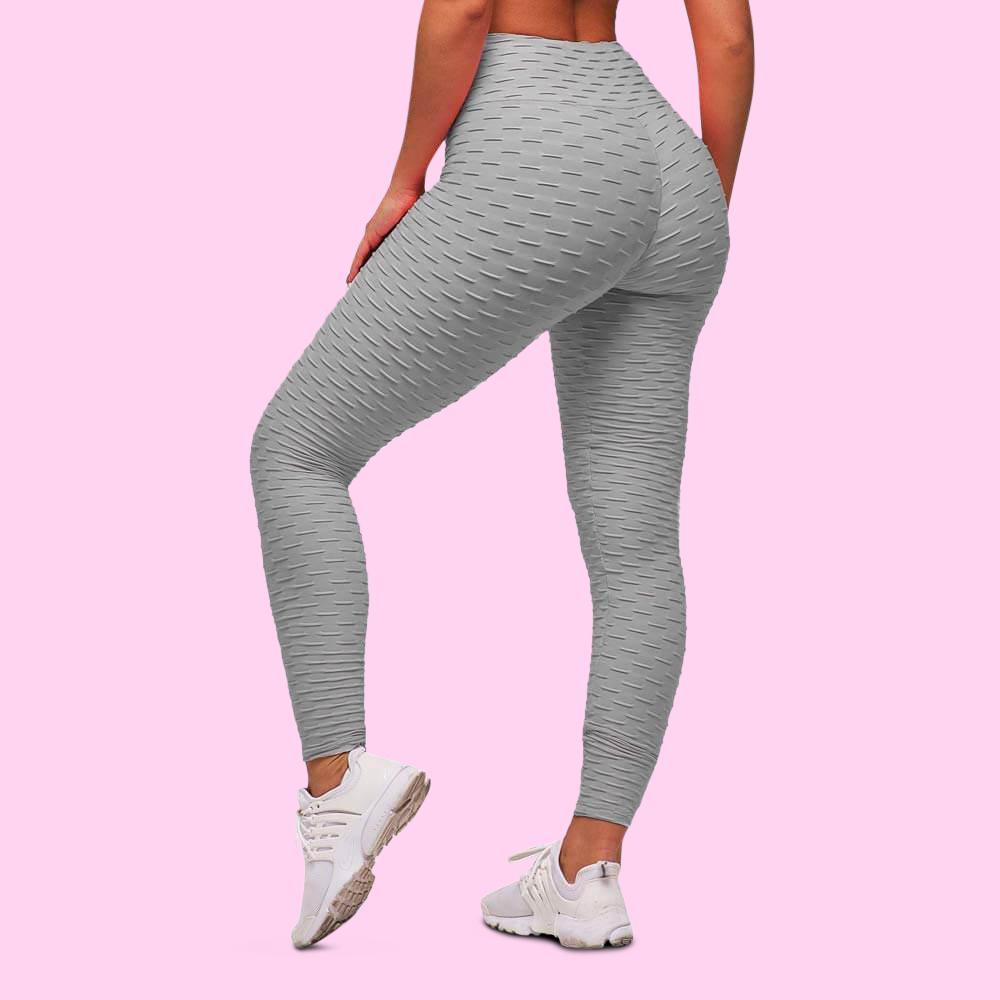 cellutherapie booty lift leggings anti cellulite amincissant gris