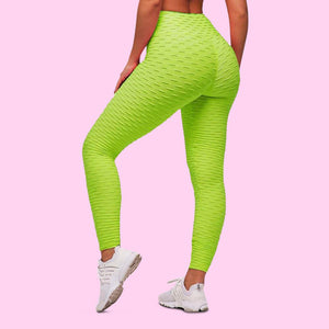 cellutherapie booty lift leggings anti cellulite amincissant lime