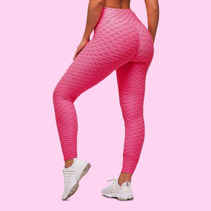 cellutherapie booty lift leggings anti cellulite amincissant rose
