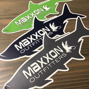 MAXXON 'TARPON' STICKERS