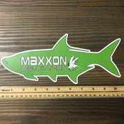 MAXXON GREEN 'TARPON' STICKER