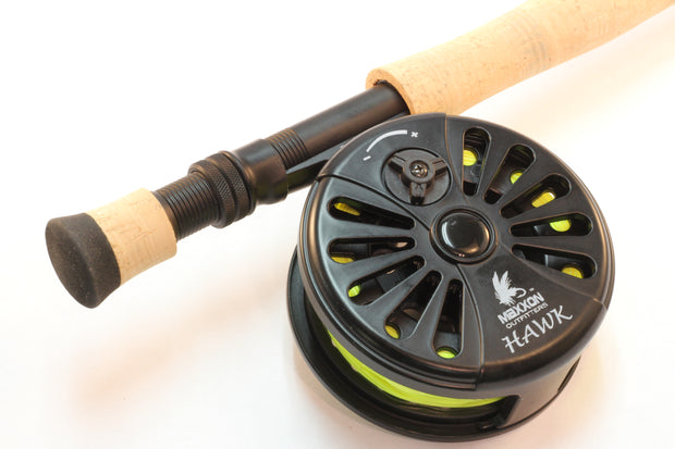 TIMBER HAWK Fly Rod, Reel & Line Combo