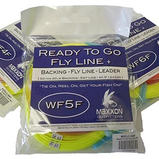 Ready To Go Fly Line PLUS