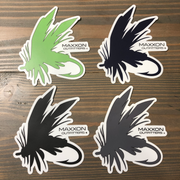 MAXXON 'FLY' STICKERS
