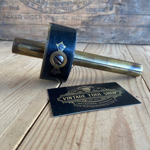 vintage Antique EBONY BRASS Ultimatum Mortise mortice marking gauge