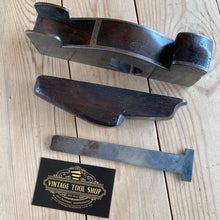 Load image into Gallery viewer, Antique HENRY SLATER England Mahogany Cast Iron INFILL PLANE T3569