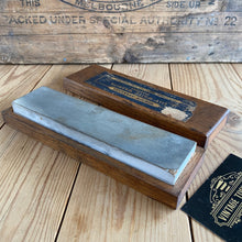 Load image into Gallery viewer, Antique NORTON LILY WHITE WASHITA ARKANSAS  natural sharpening stone A3