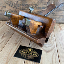 Load image into Gallery viewer, Antique wooden PLOUGH PLANE a No:5B MATHIESON, Scotland with 8x irons T1308