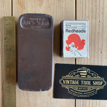 Load image into Gallery viewer, Antique BARBERS HONE dual compound sharpening STONE A10