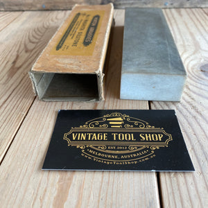 Vintage Norton WASHITA natural sharpening STONE IOB A75