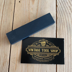 Antique small BLACK hard ARKANSAS natural sharpening stone A63