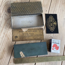 Load image into Gallery viewer, Vintage PIKE Wireless BARBER Hone sharpening stone A28