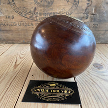 Load image into Gallery viewer, Antique LIGNUM VITAE Wooden Lawn BALL T6852
