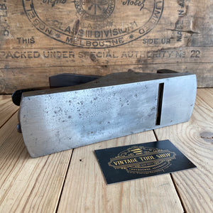 Antique SLATER England HANDLED INFILL smoothing plane Rosewood T3565