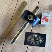 Load image into Gallery viewer, vintage Antique EBONY BRASS Ultimatum Mortise mortice marking gauge