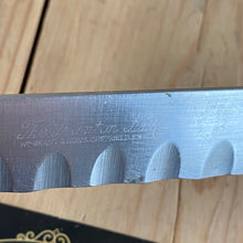 Load image into Gallery viewer, Vintage long stainless steel GRANTON HAM KNIFE by William Grant T6765