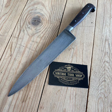 Load image into Gallery viewer, Vintage French Carbon Steel CHEFS KNIFE T6757